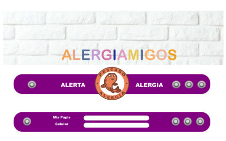Alergiamigos - pulseras para niños con alergia