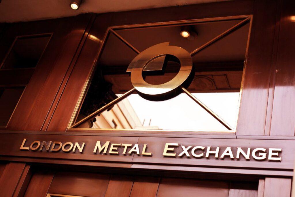Precio de los metales